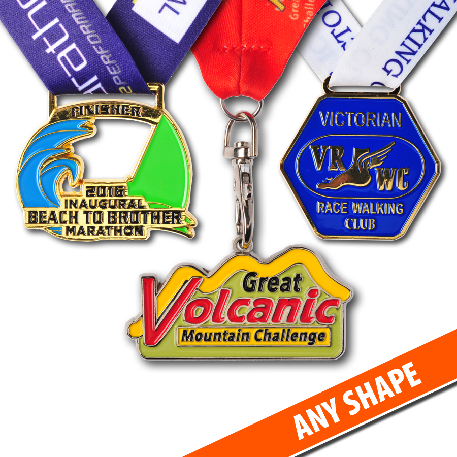 Medals of any shape...
